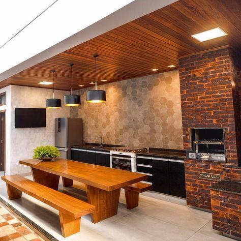 Móveis Planejados para churrasqueira e área externa