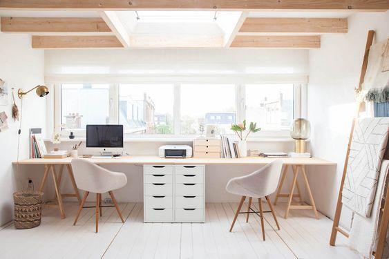 Móveis para um Home office integrado e funcional