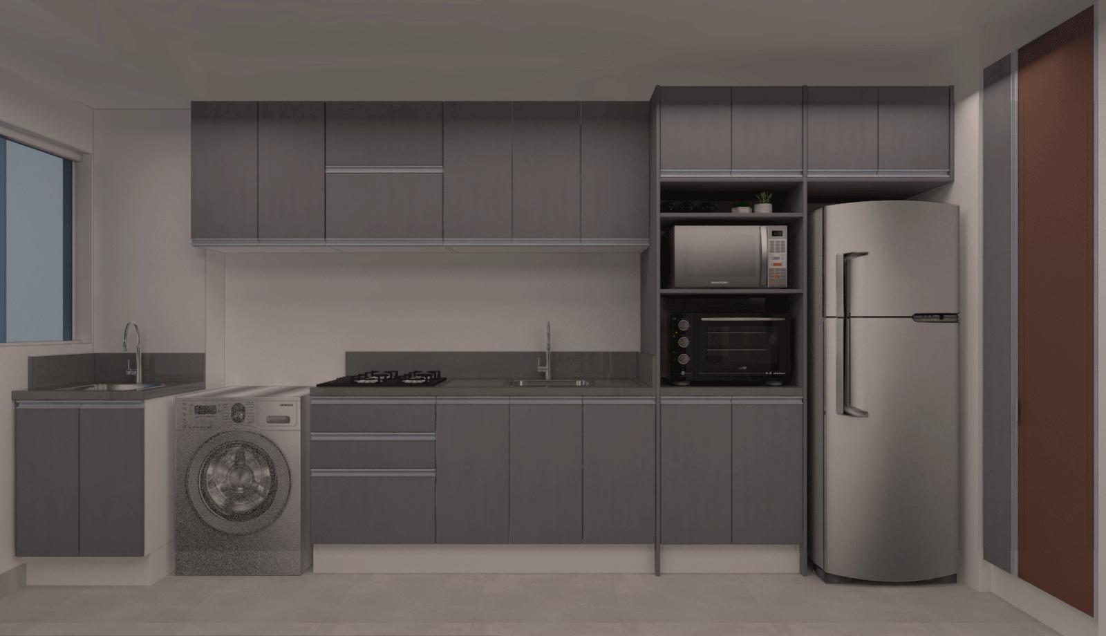 Armário de cozinha sob medida: tudo o que você precisa saber