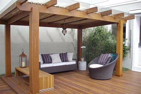 Pergolado de madeira: dicas de decoração para o seu jardim